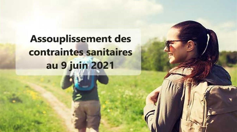 L'actualisation du plan de reprise des activités rando au 9 juin 2021