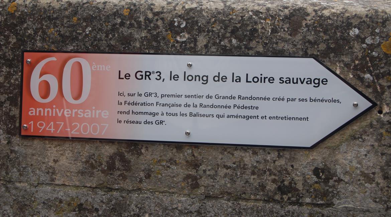 HISTOIRE : Le premier GR® est né le long de la Loire