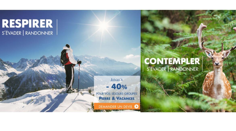 PARTENARIAT : Pierre & Vacances devient partenaire de la FFRandonnée