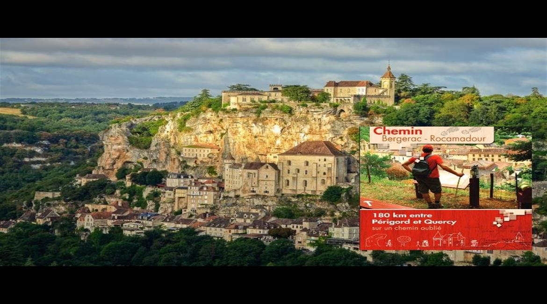 COMPOSTELLE : De Bergerac à Rocamadour, un chemin oublié
