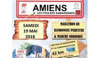 AMIENS ( Somme ) : Les Foulées samariennes , 9ème éd.
