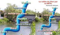 LOIR-ET- CHER : La Vallée du Cher par le GR® 41