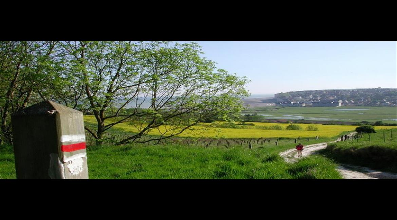 Le sentier normand GR® 21 vu par les caméras de France 2